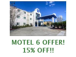Discount coupon Motel 6 10% off