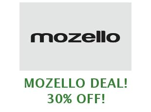 Coupons Mozello save up to 50%