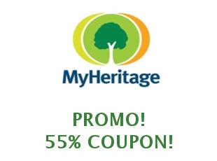 Discount coupon My Heritage save up to 15%