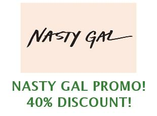 Coupons Nasty Gal save up to 55%