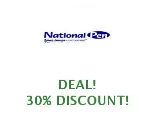 Discount coupon National Pen 25% off