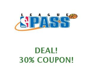 Coupon NBA League Pass save up to 25%