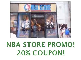 Promotional codes NBA store save up to 20%