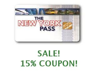 Coupons New York Pass 20% off