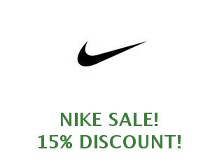 Coupons Nike, save up to 20%