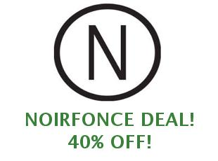 Discount code Noirfonce save up to 20%