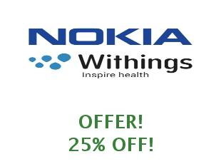 Promotional offers and codes Nokia Health save up tp 50%