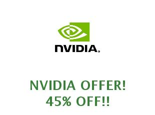 Promotional code Nvidia save up to 50%