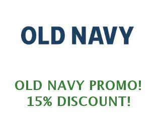 Discount code Old Navy 40% off