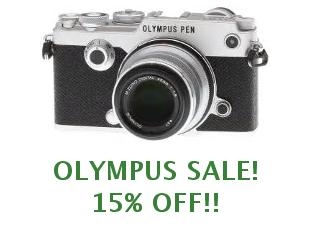 Coupons Olympus save up to 25%