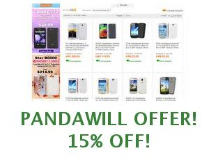 Discount code Pandawill save up to 20 dollars