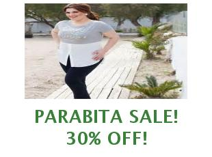 Discount code Parabita save up to 25%