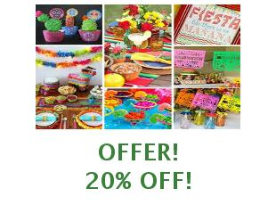 Promotional codes and coupons Party Fiesta save up to 10%