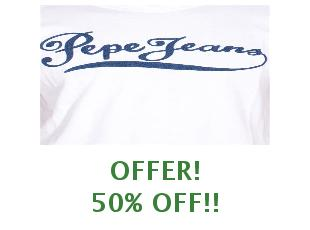 Discounts Pepe Jeans save up to 30%