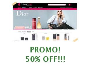Promotional offers Perfume's Club save up to 15%