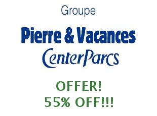 Promotional offers and codes PierreEtVacances save up to 40%