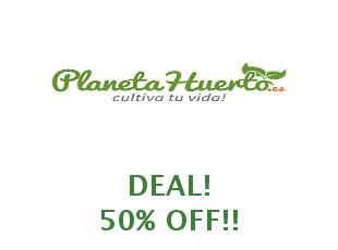 Promotional offers and codes Planeta Huerto save up to 10%