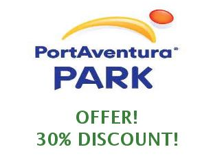 Promotional codes PortAventura save up to 20%