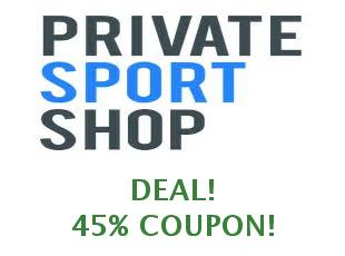 Coupons Private Sport Shop save up to 10%