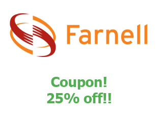 Promotional offers and codes Farnell save up to 15%