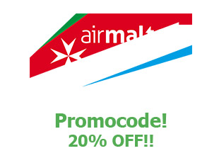 Coupons Air Malta 20% off