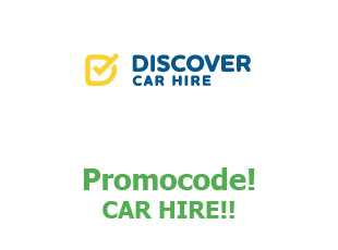Promotional codes and coupons Discover Car Hire