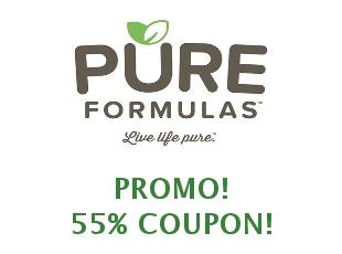 Promotional codes and coupons Pure Formulas save up to 25%