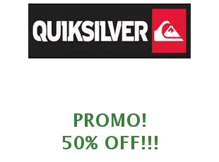 Promotional codes Quiksilver save up to 30%