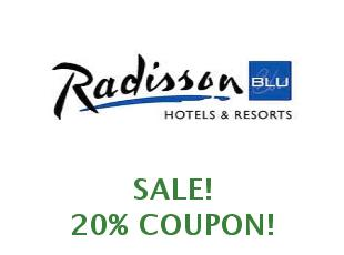 Promotional codes and coupons Radisson Blu save up to 30%