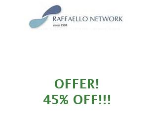 Coupons Raffaello Network save up to 15%