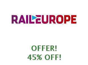 Coupons Rail Europe save up to 30%