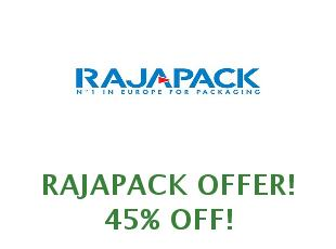 Promotional codes Rajapack VAT off