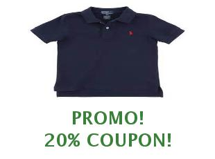 Discount coupon Ralph Lauren save up to 25%