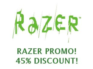 Discount coupon Razer save up to 10%