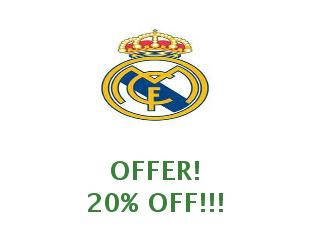 Promotional codes and coupons Real Madrid