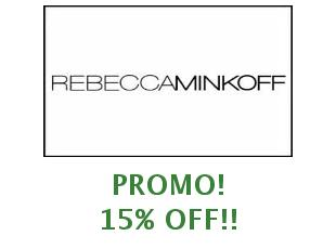Promotional codes and coupons Rebecca Minkoff 20% off