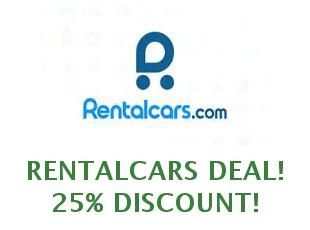 Coupons Rentalcars save up to 10%