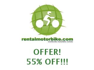 Promotional offers and codes Rentalmotorbike 5% off