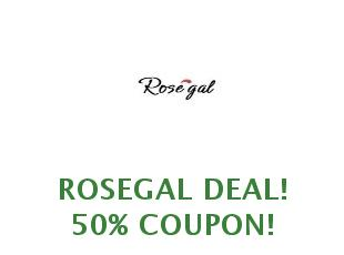 Discount coupons RoseGal 25% off