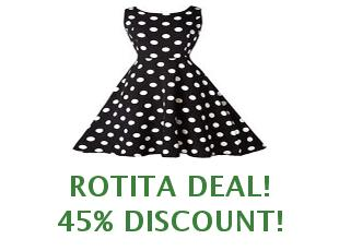 Promotional codes and coupons Rotita save up to 20%