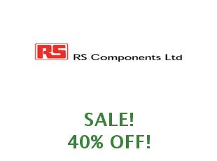 Promotional offers and codes RS Components 20% off