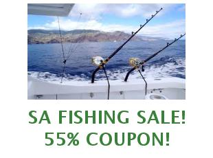 Discount code SA Fishing saveup to 80% off
