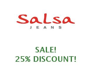Promotional code Salsa Jeans save up to 15%