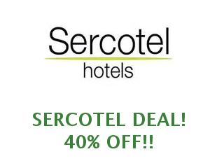 Discount coupons Sercotel