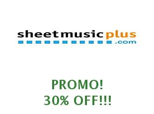 Promotional code Sheet Music Plus save up to 15%