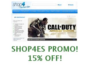 Promotional code Shop4es save up to 10%