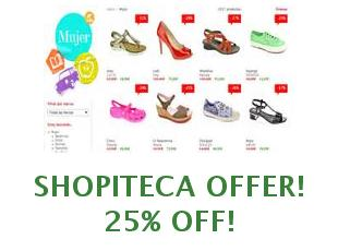 Promotional offers and codes Shopiteca save up to 25%