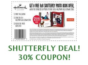 Discount coupons Shutterfly