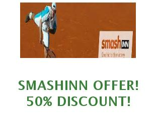 Promotional codes and coupons Smashinn save up to 15%