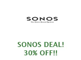 Promotional code Sonos save up to 60$